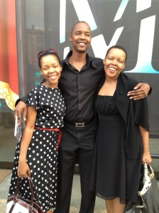 Me,my brother Simphiwe and my sister Vuyo
